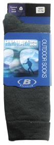 Black 11-14 Himalaya Thermo Sock