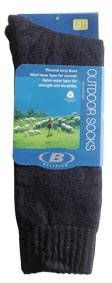 Bottle Green 6-10 Himalaya Thermo Sock