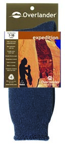 Overlander Expedition Sock Black 2-8