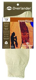 Khaki 2-8 Overlander Expedition Sock