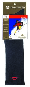 Black 11-14 Overlander Skiing Sock