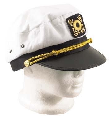 Captains Cap White