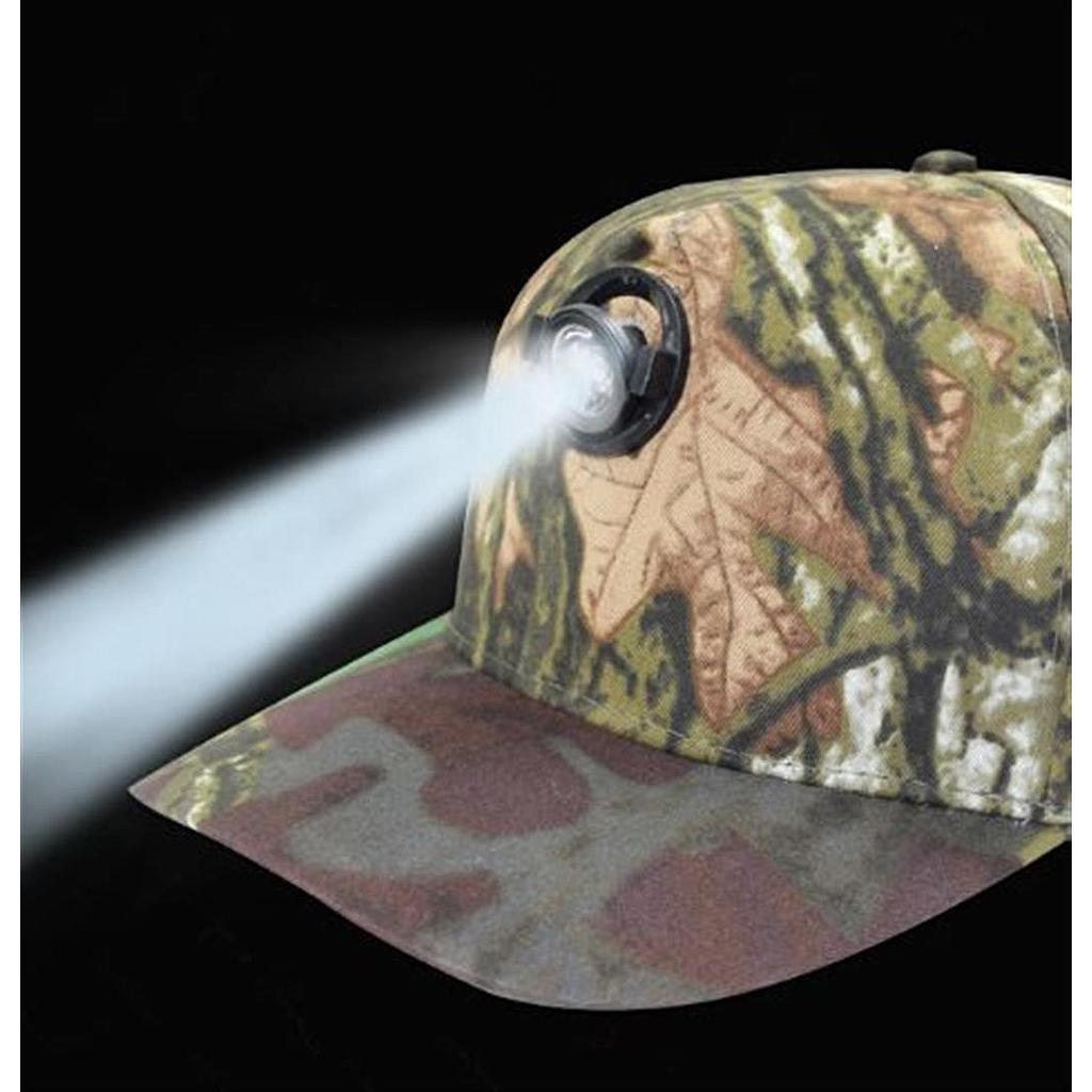 1 Watt LED Baseball Cap Camo Adjustable Angle
