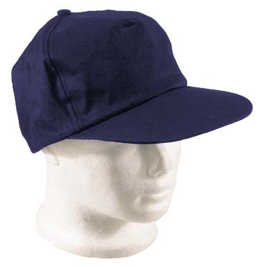 Cotton Baseball Cap Navy