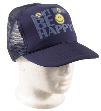 Baseball Cap 'Dont Worry Be Happy'