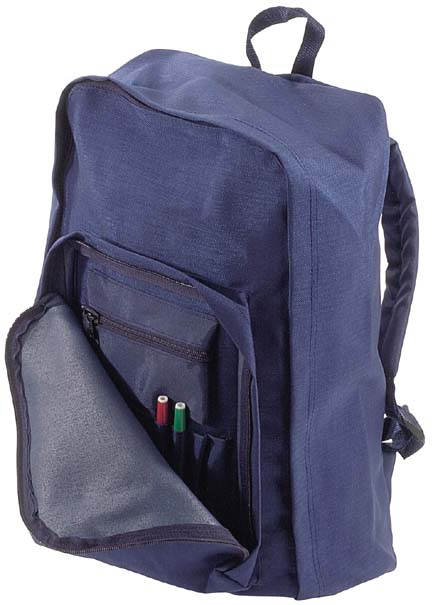 Cordura Tear Drop Backpack  with Organiser Blue