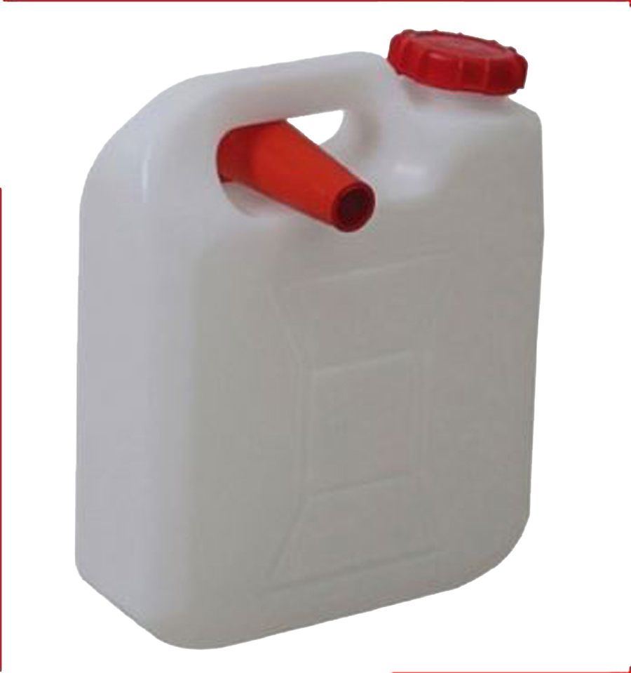10 Lt Plastic Jerry Can W/spout