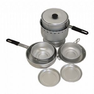 Peakmate Deluxe Alum Alcohol Cook Set