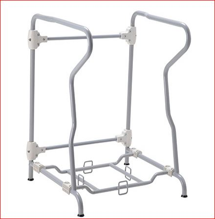 Chemical Toilet Frame with Armrest Folding