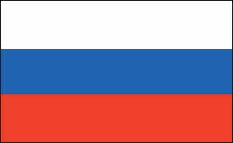 Russia Flag 5' X 3'