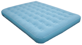 "Velour Airbed, 60x78"" Queen Box Pack"