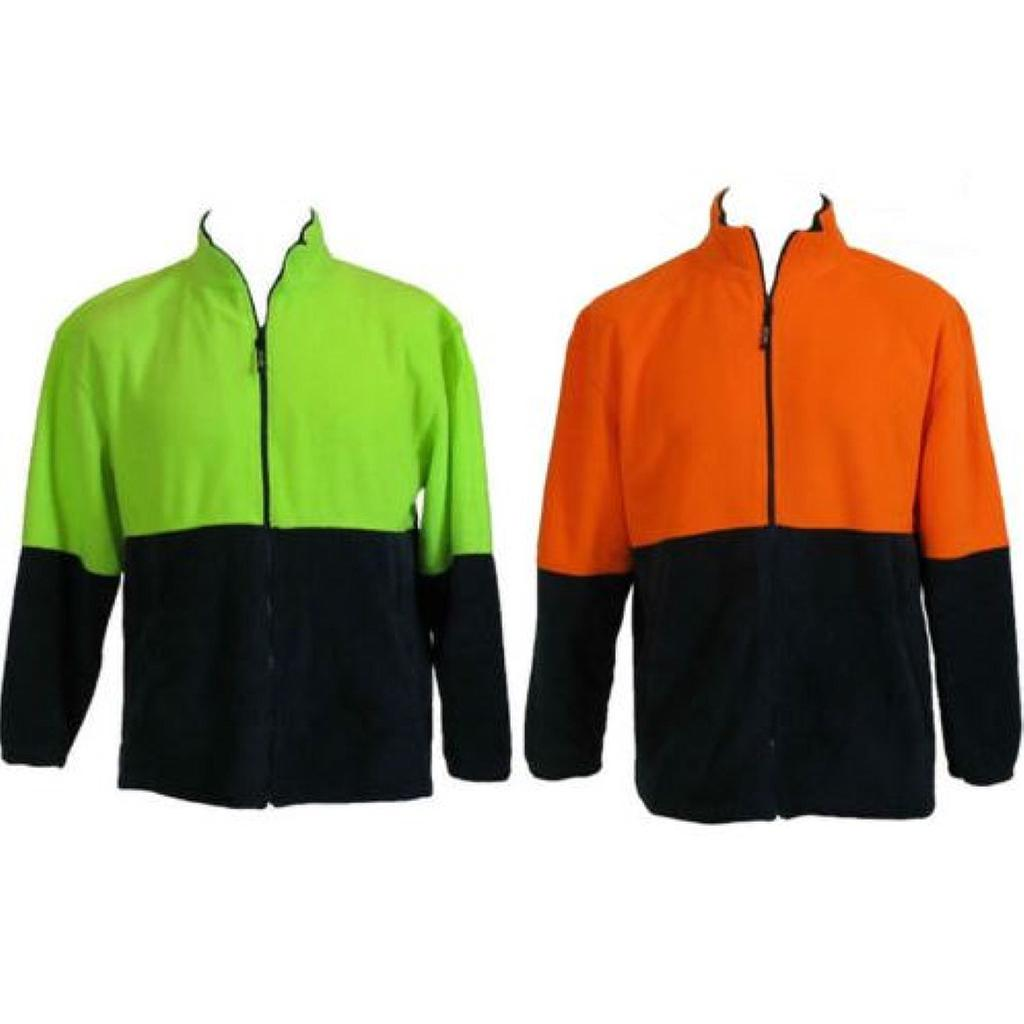 Hi Vis Full Zip Fleece Jacket